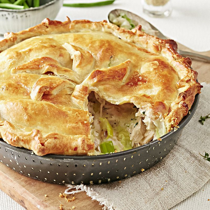Chicken Leek Pie In Chicken Game And Turkey Recipes At Lakeland Chicken And Leek Pie Cooking Recipes Savoury Food