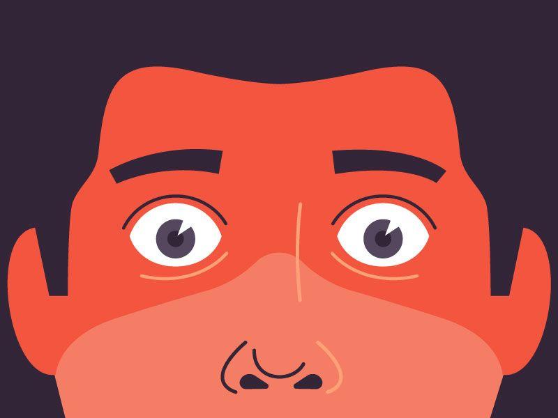 Scared Face Scared Face Face Illustration Emoji Faces