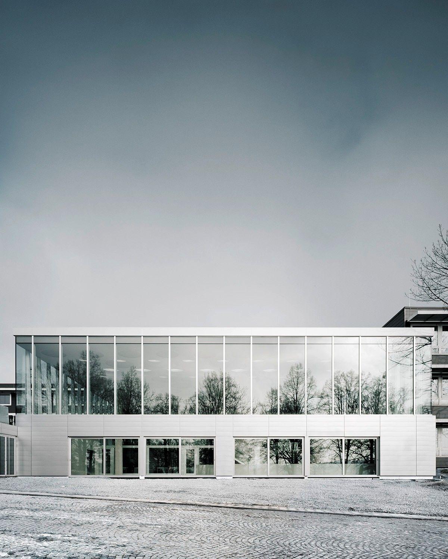 Architekten Heilbronn catwalk im gymnasium schulerweiterung ecker architekten in