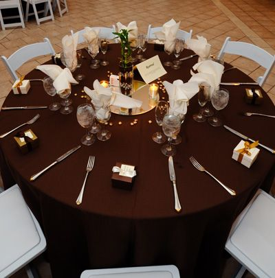 Chocolate And Navy Wedding The Standard Linen Would