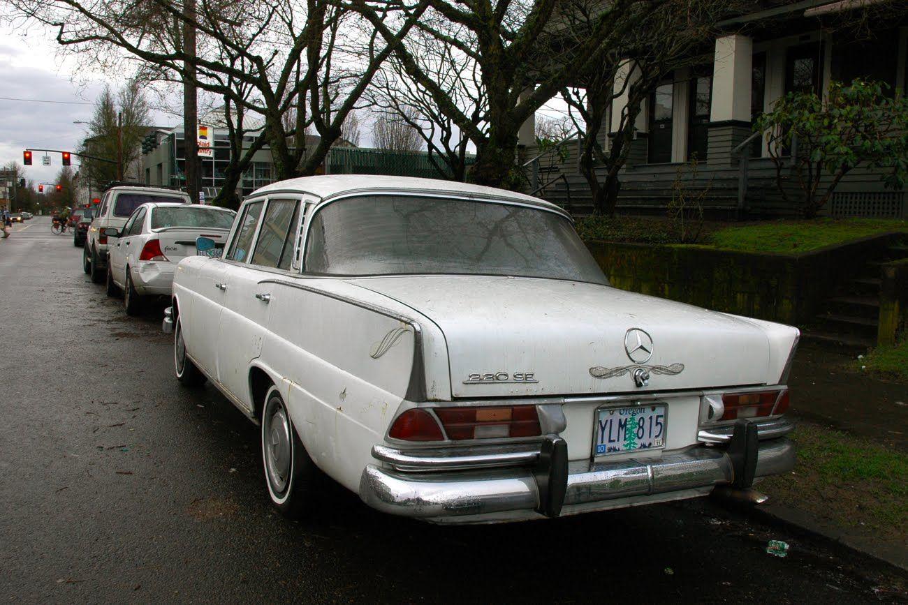 Mercedes Benz Portland >> Old Parked Cars 1965 Mercedes Benz 220se Benz Mercedes