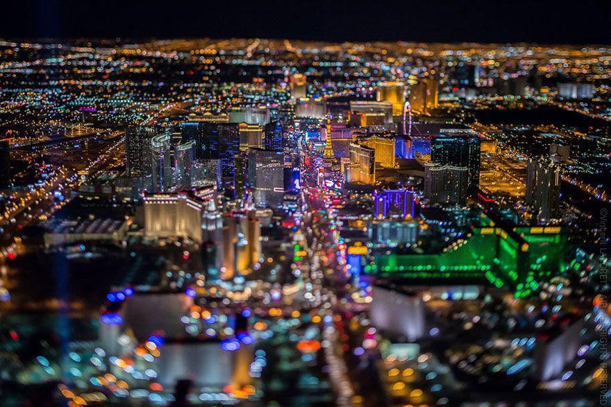 Las Vegas Strip Photos At Night
