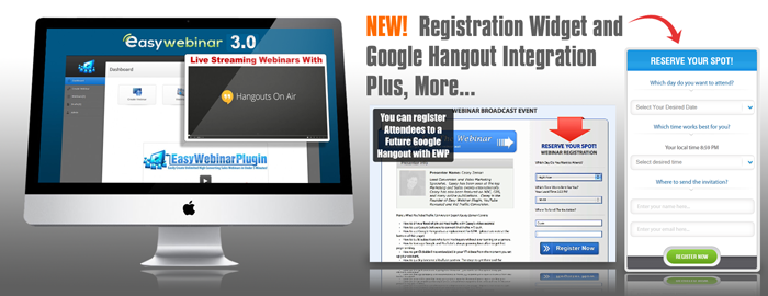 Webinars are now easier and faster with Easy Webinar. It