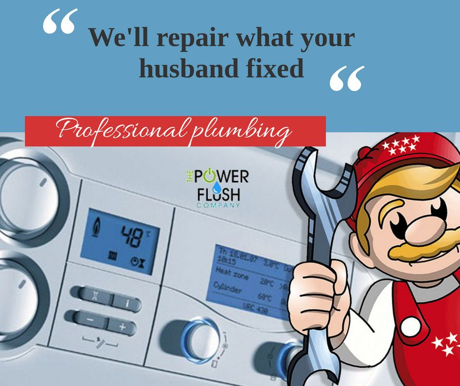 We'll repair what your husband fixed!!! Boiler installation