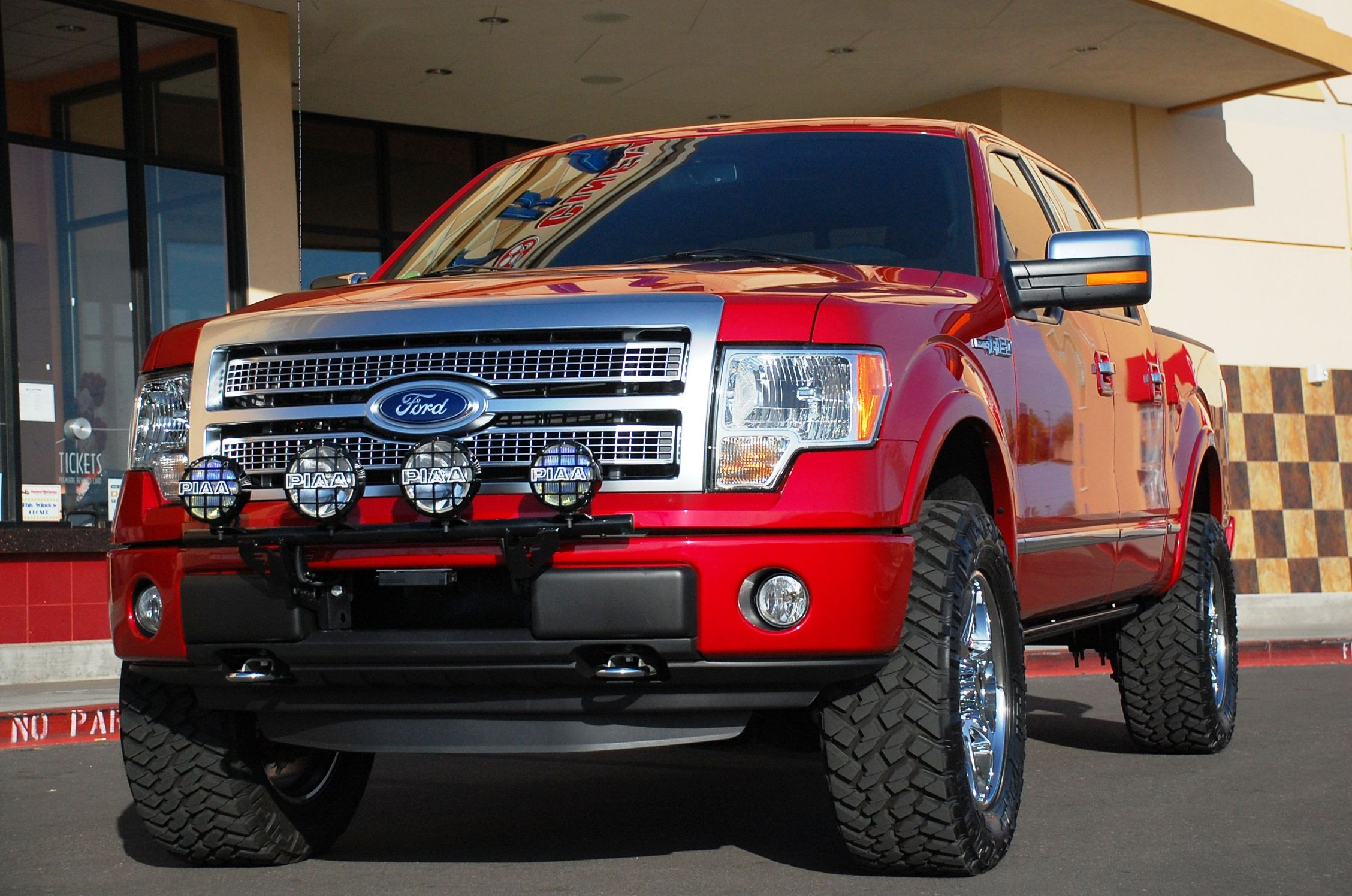 Desert dawg s custom 2011 ford f150 platinum 5 0l supercrew 4x4 2 5 inch bds