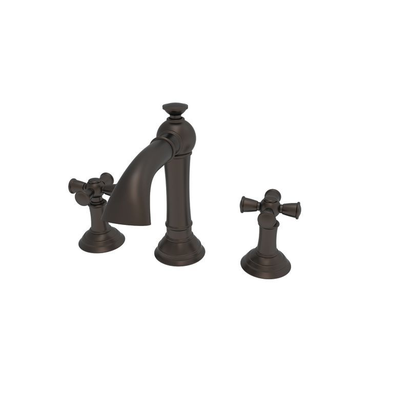 Newport Brass 2400 Double Handle Widespread Bathroom Faucet from the Aylesbury C Weathered Copper (Living) Faucet Lavatory Double Handle