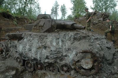 German Panzer 4 recovered in Norway.