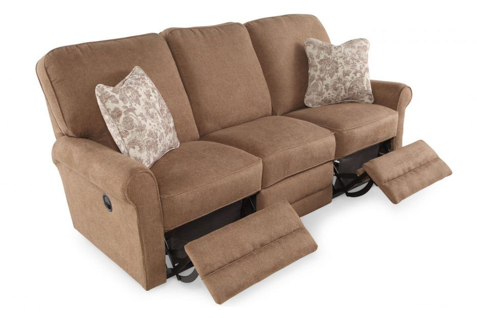Furniture Lazyboy Sofas Dark Brown With Three Seats And There Are