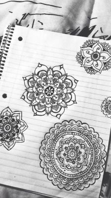 pretty drawing fav design idea drawings tattoo design designs mandala ideas tattoo idea 100 notes tattoo - Drawing Design Ideas