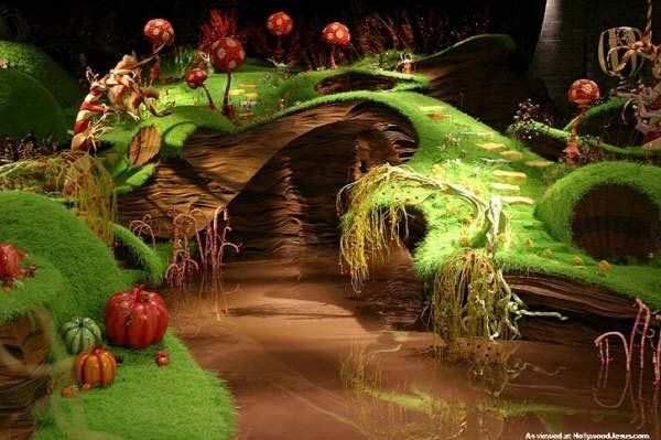 Willy Wonka Chocolate Factory River