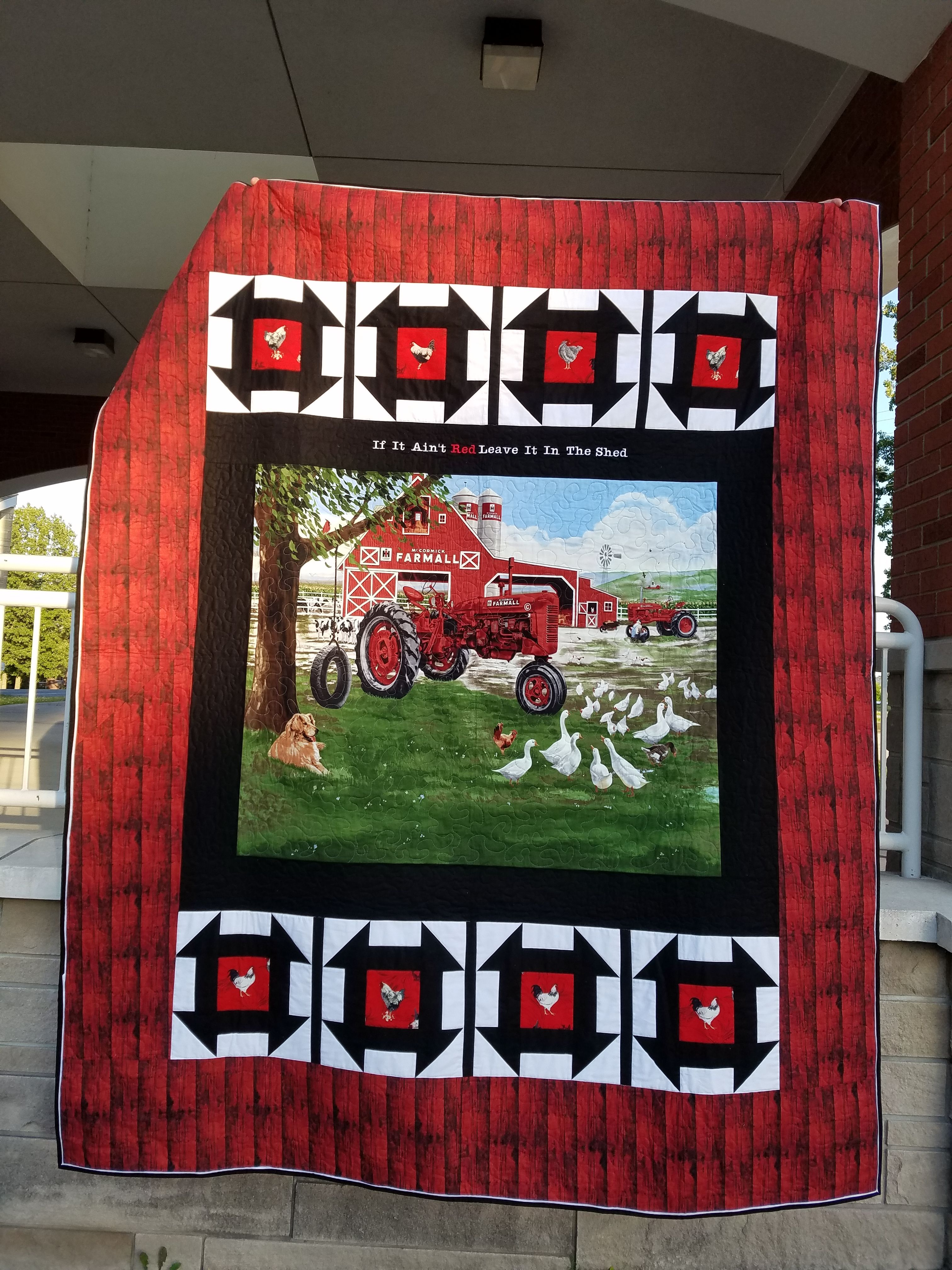 Deborah Created This Magnificent Quilt For Her Dad For His 90th