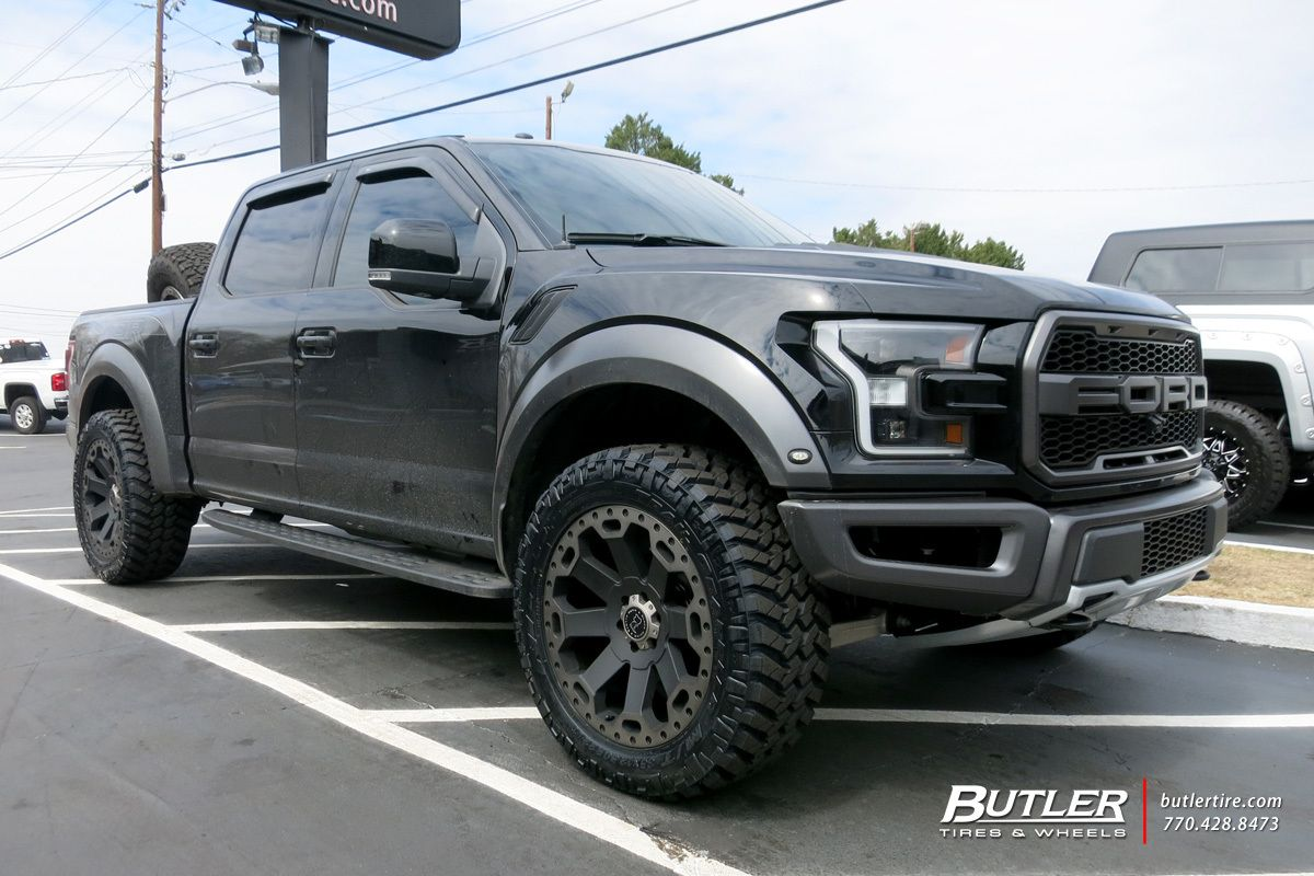 Ford Raptor with 22in Black Rhino Warlord Wheels | Butler ...