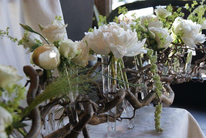 Mariage nature chemin de table inspiration mariage c p pinterest - Faire un chemin de table ...