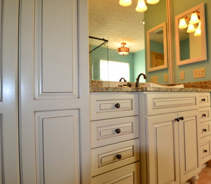 bathroom by the jae comapny featuring kraftmaid cabinetry marquette jaecompany