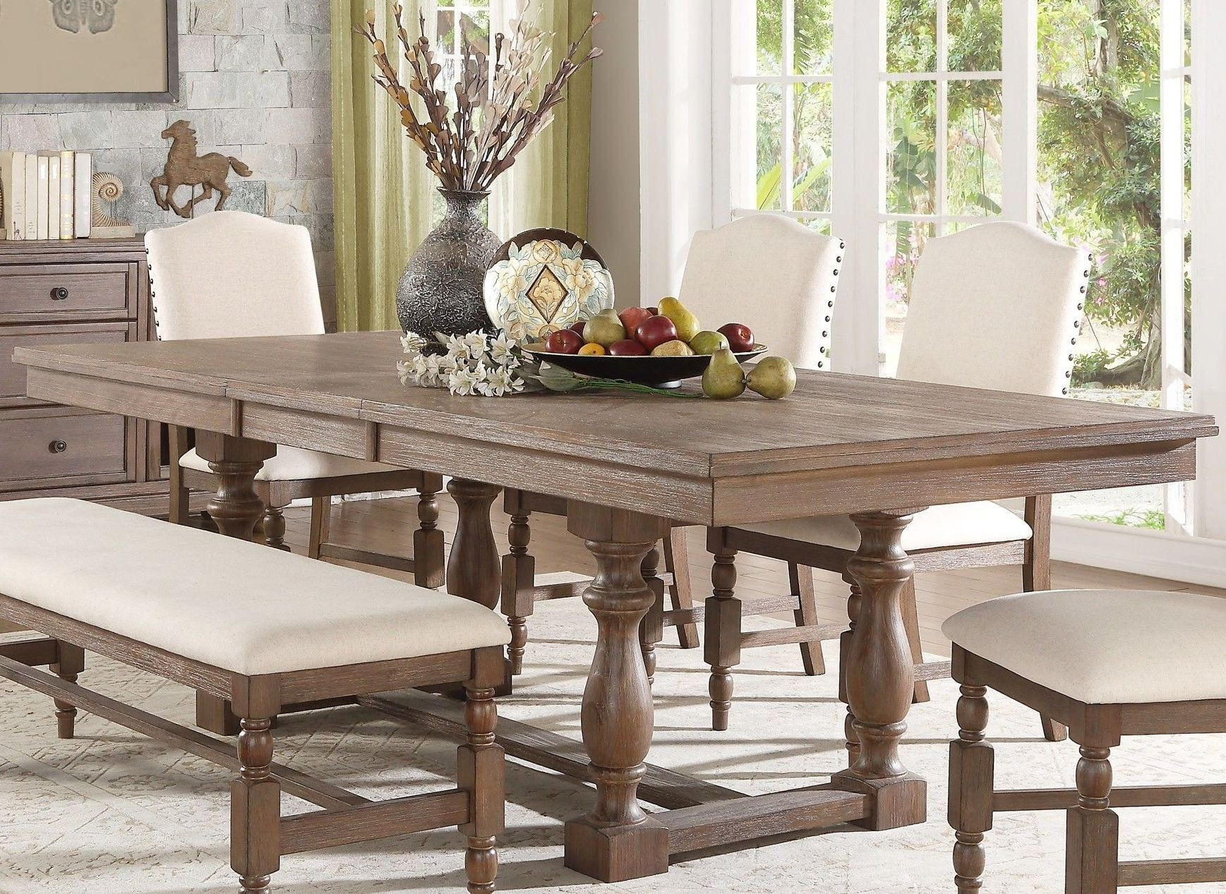 Cinema Grays Oval Extendable Dining Table From Racheal Ray Home