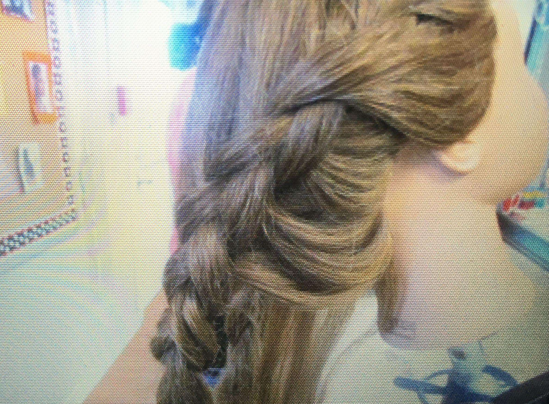 over hand braid | chs.cosmo#6 | hair styles, hair, braids