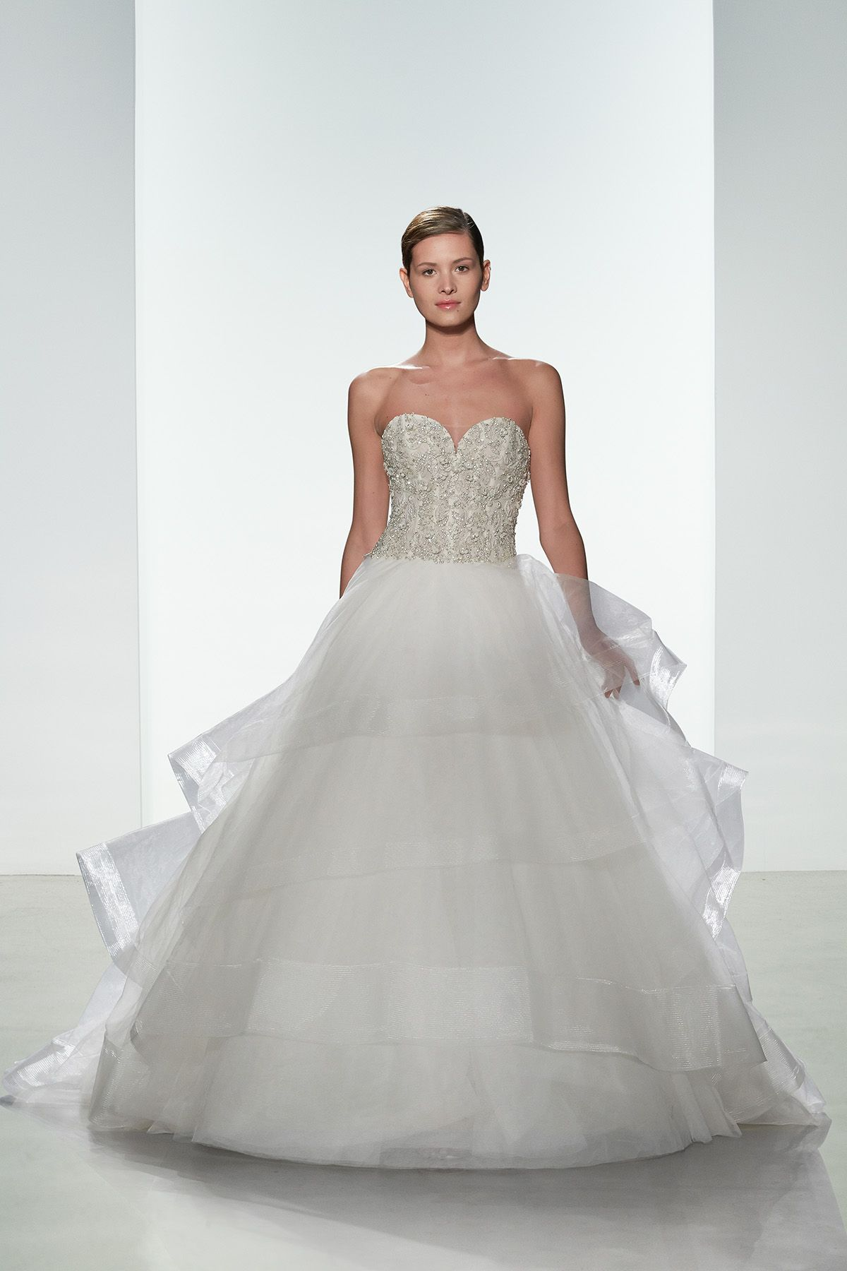 Dress for wedding party in winter  Kenneth Pool Rina  Wedding Dresses  Pinterest  Wedding dress and