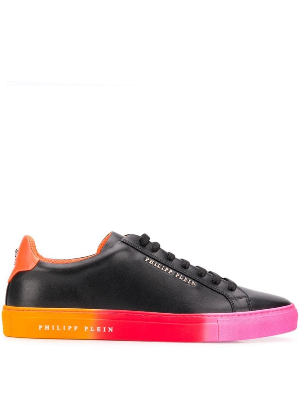 Philipp Plein gradient low top sneakers Black | Sneakers