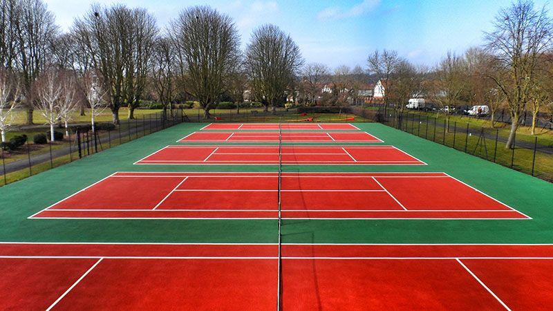 Tennis Court Construction Costs in Clackmannanshire 2