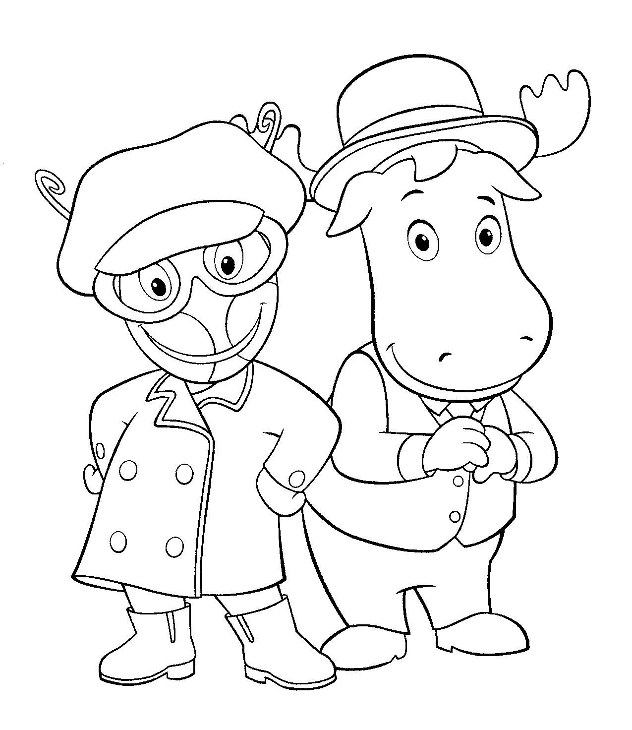 Backyardigans Minecraft Coloring Pages Coloring Pages Free Coloring Pages