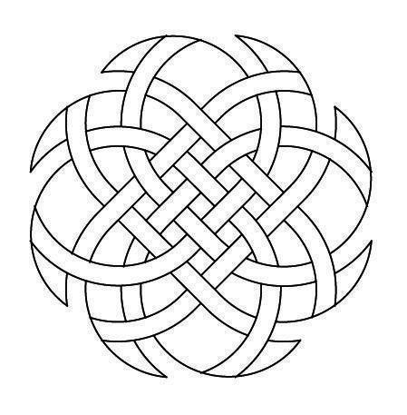 Sinnvolle Tätowierungsideen - Celtic Knotwork Octagon3 von Peter Mulkers