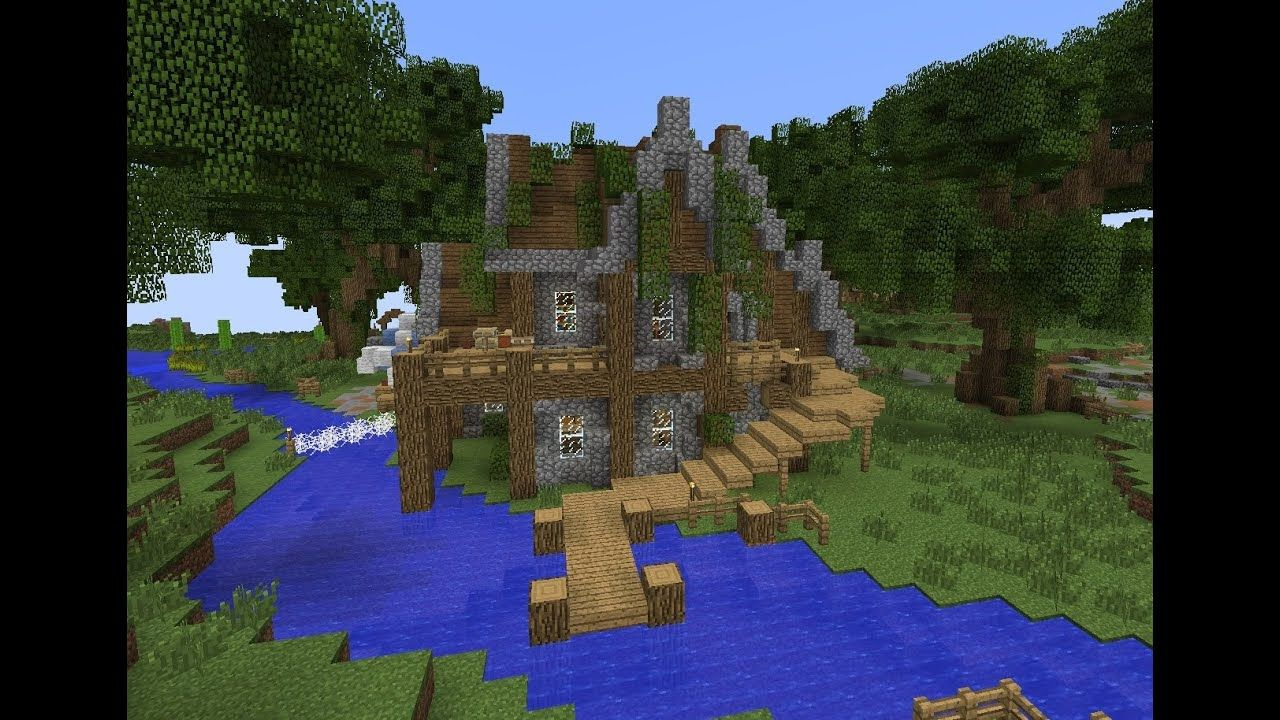 Rustic House by Justin Bieber  Minecraft mountain house