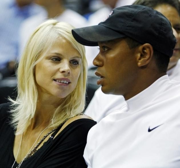 tiger woods and ex