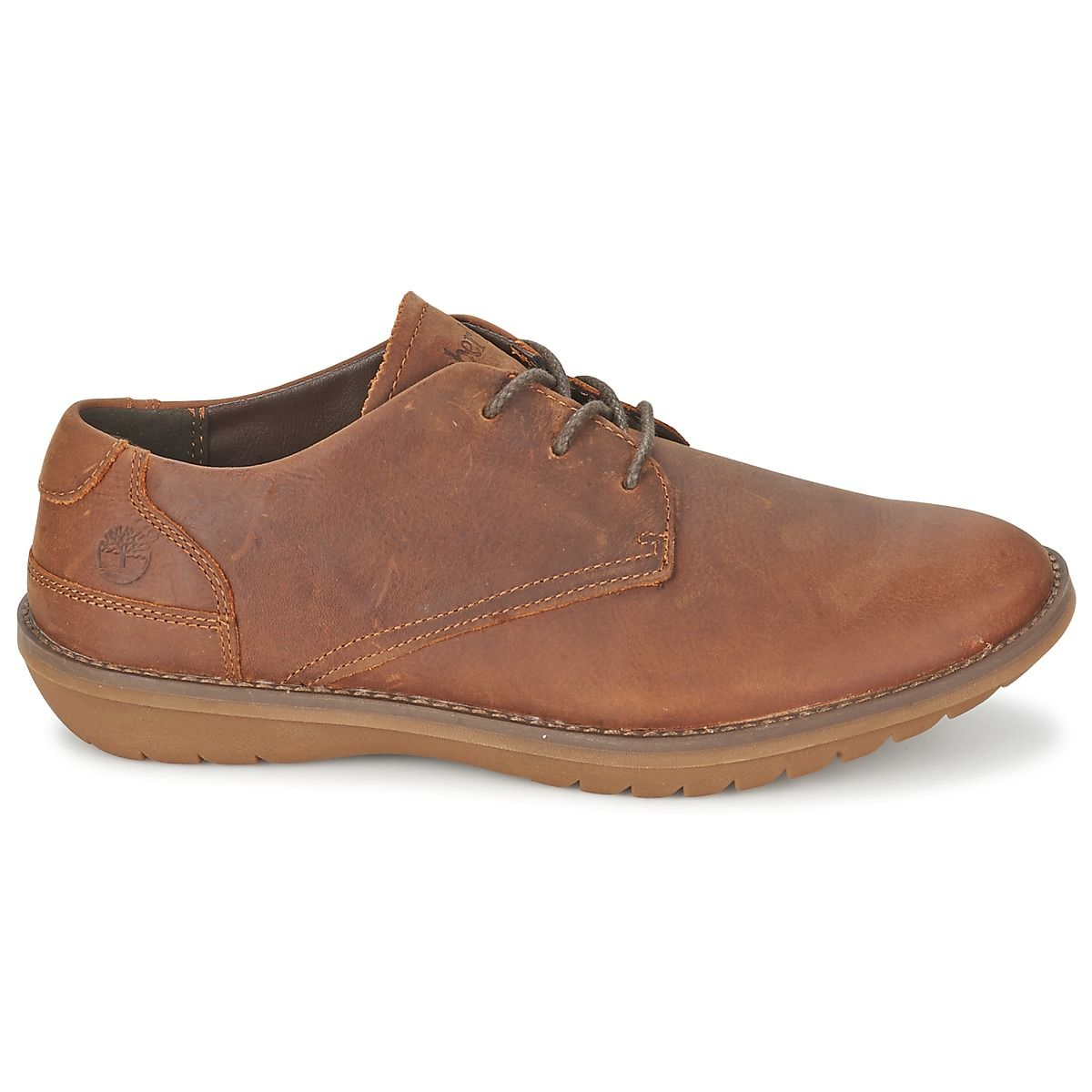 Casual men's shoes in leather from @timberland #shoes