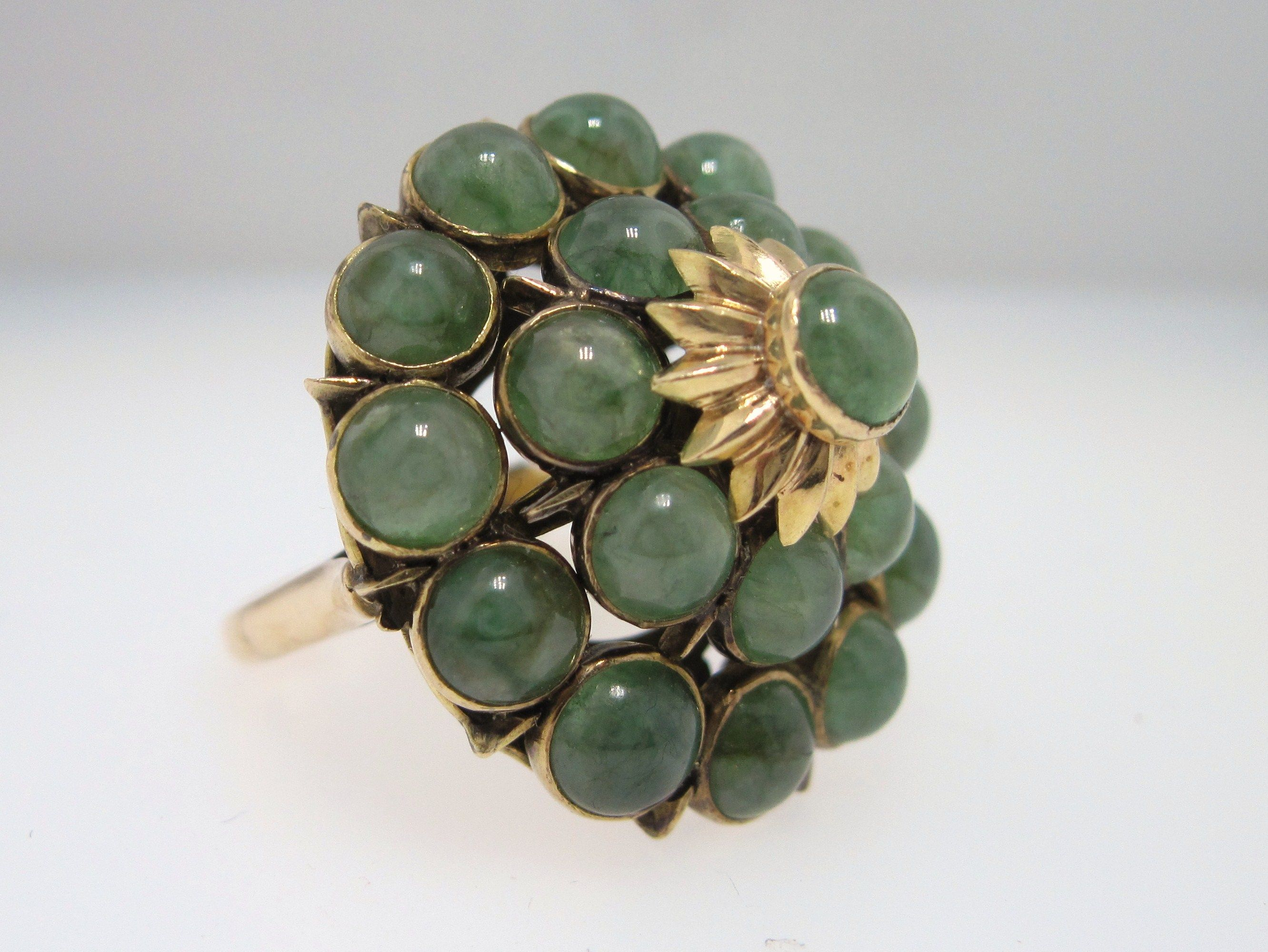 RP: Antique Jade Gold Ring.