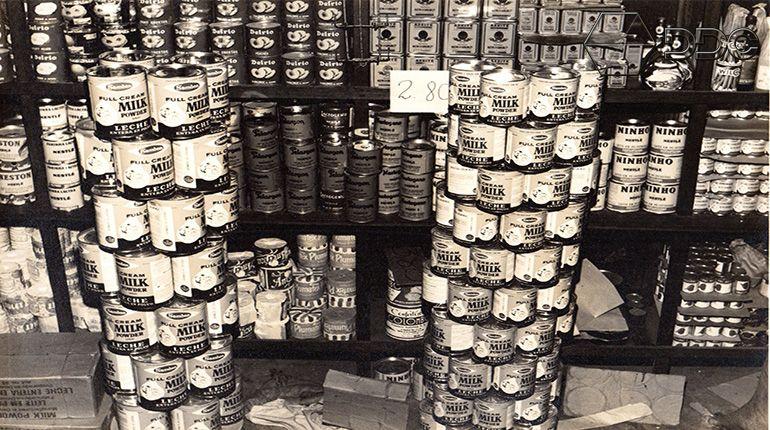 Produtos à venda na Casa dos Óleos.
