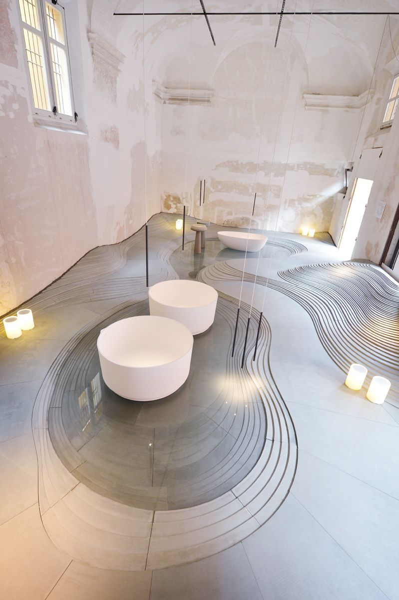 Stonescape installation art pinterest bologna showroom and interiors - Interior design bologna ...