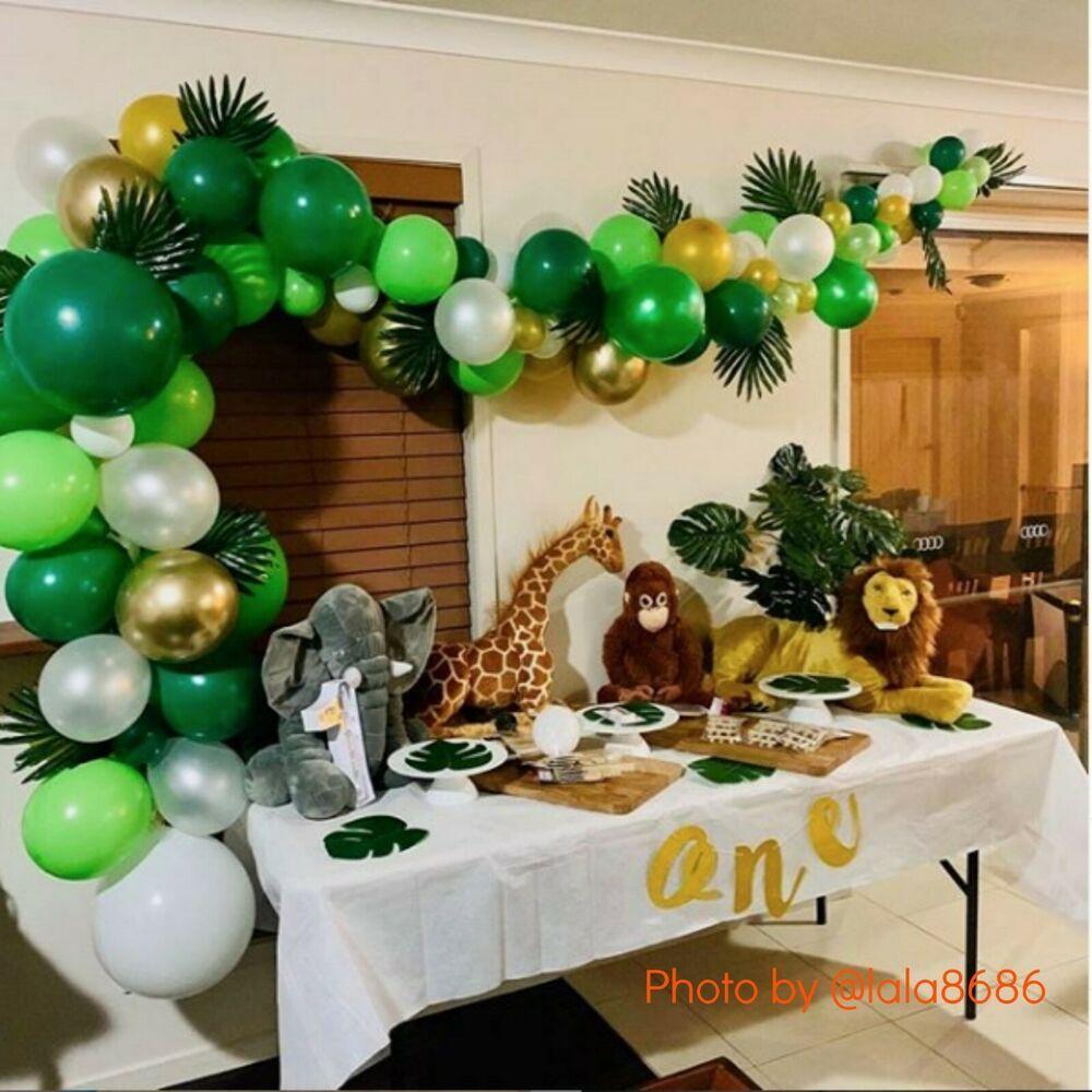 """Details about DIY 3M """"Wild One Safari"""" Balloon Garland Kit"""
