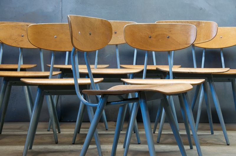 Vintage Schoolhouse Chairs