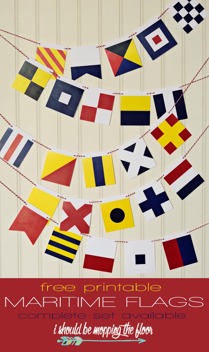 free printable maritime flags free printable flags and free
