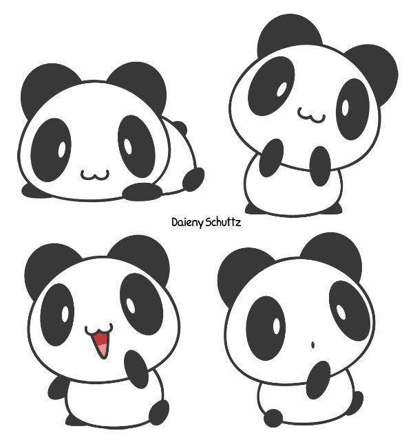 Imagen Relacionada With Images Cute Panda Cartoon Cute Panda