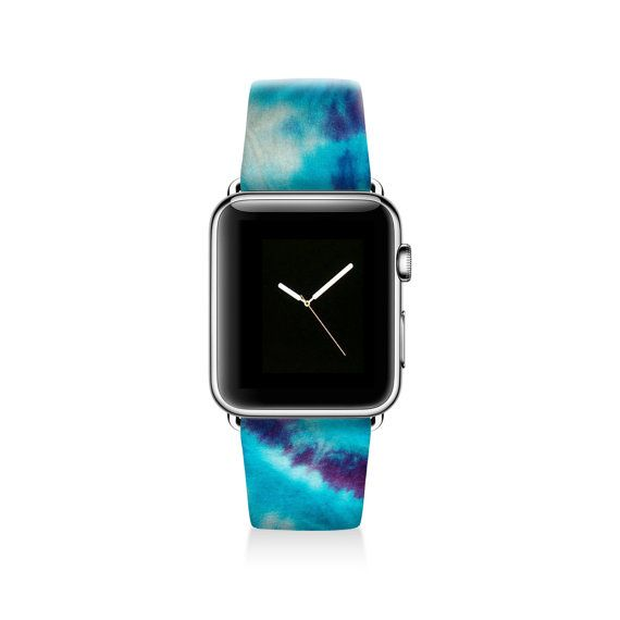 Tie dyed Apple watch band women Apple watch strap by