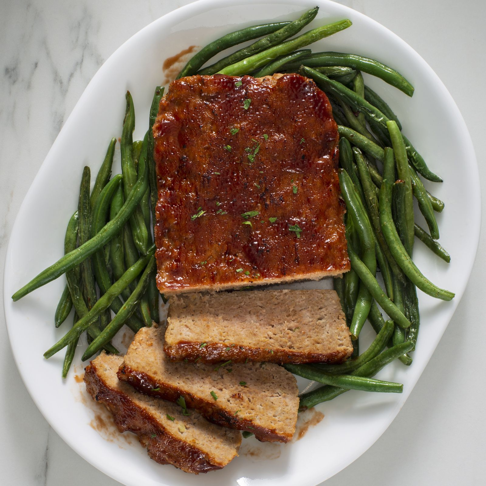 Duo Crisp Air Fryer Turkey Meatloaf And Green Beans Instant Pot Recipes Recipe Instant Pot Recipes Pot Recipes Turkey Meatloaf
