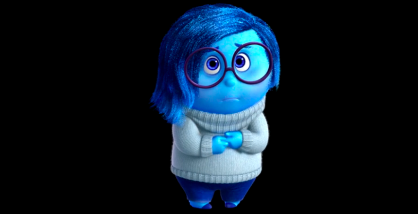 Inside Out Sadness Png 860 442 Sadness Inside Out Inside Out Emotions Movie Inside Out