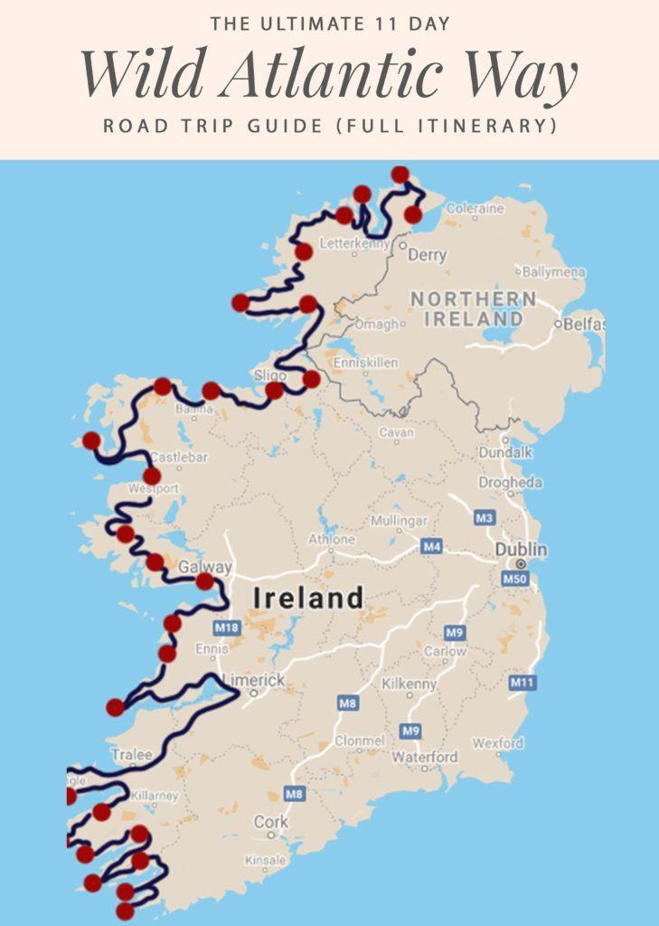 Irishroadtrip Guide 11 Long Lovely Days On The Wild Atlantic Way