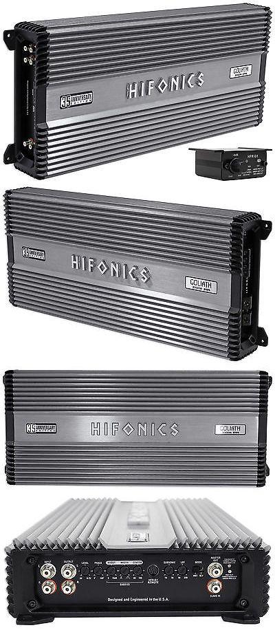 Car Amplifiers Hifonics Goliath 35th Aniv 3000 Watt Rms