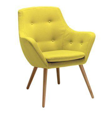 Sessel Florin Gelb Auch In Anderen Farben Erhaltlich Micasa