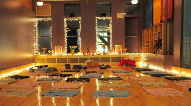 """Bija Yoga: """"At The Front Of The Practice Space Is The"""