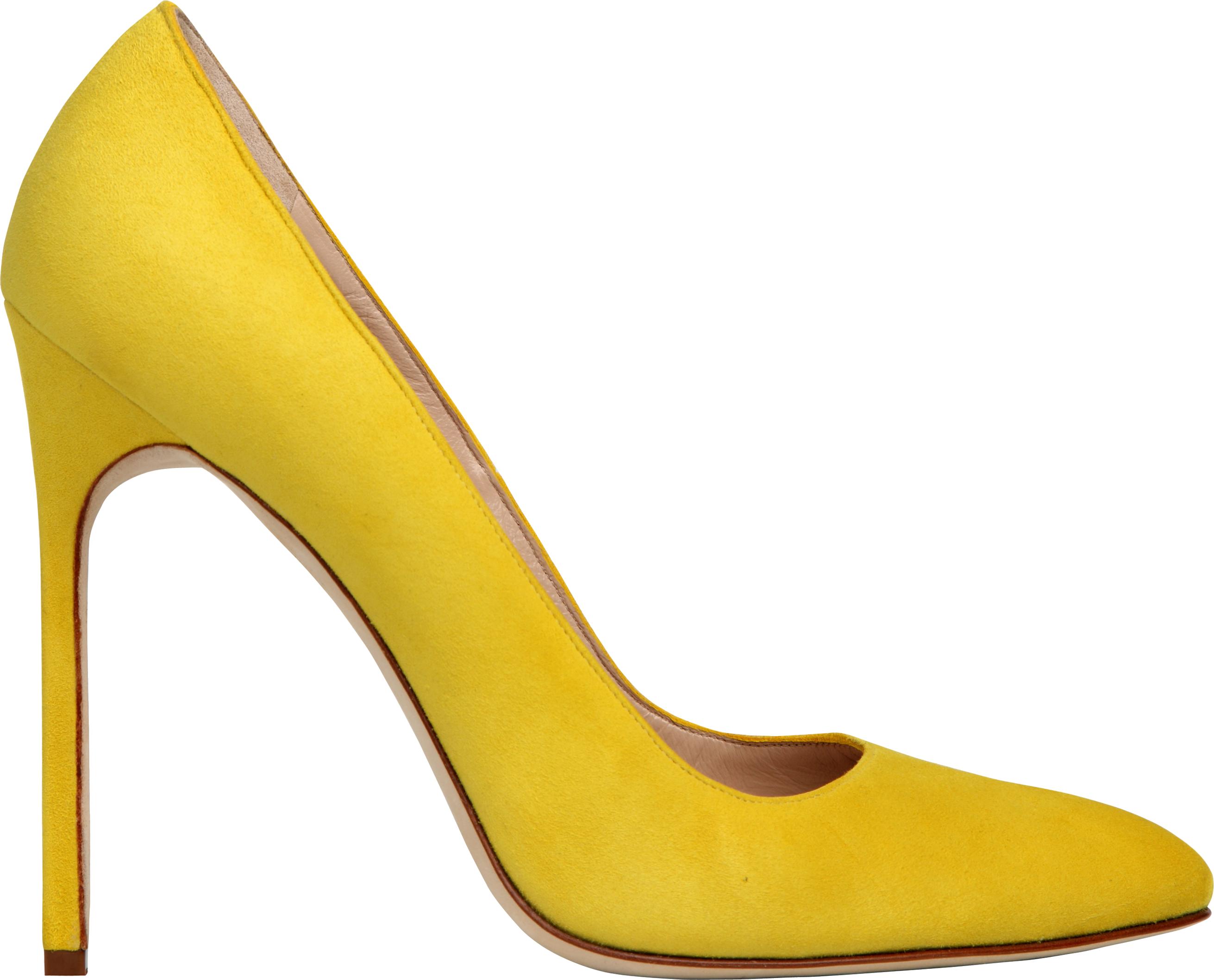 Yellow Women Shoe Png Image Yellow Heels Women Shoes Shoes