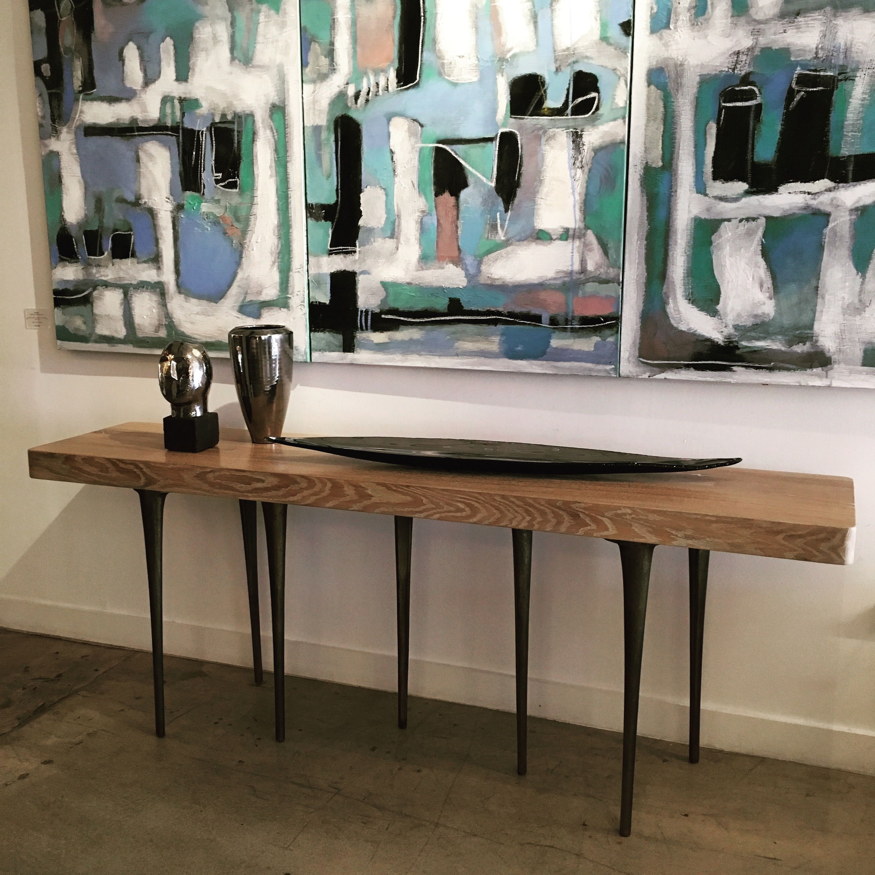 Marco Lorenzetto painting, AKMD Thicket Console