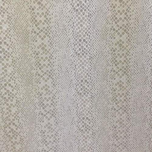 Taupe & Silver Metallic Sateen on White Upholstery Fabric | Snakeskin Pattern #velvetupholsteryfabric