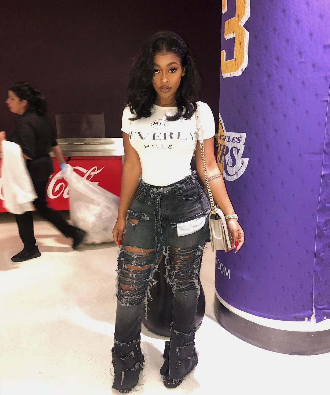 """Miracle Watts on Instagram """"Only Because I live in LA  HOUSTON don't get it messed up, It's still ROCKETS ALL DAY  lol Jeans  @stackmoneyquincy"""" is part of Fashion - 73 6k Likes, 747 Comments  Miracle Watts (@miraclewatts00) on Instagram """"Only Because I live in LA  HOUSTON don't get it messed up, It's still ROCKETS ALL DAY  lol Jeans …"""""""
