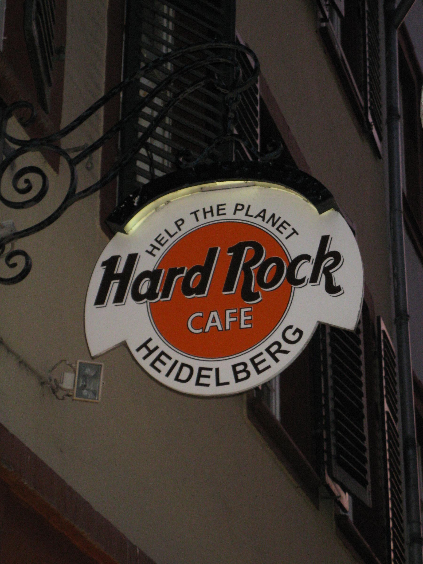 Frankfurt hard rock cafe Frankfurt Airport