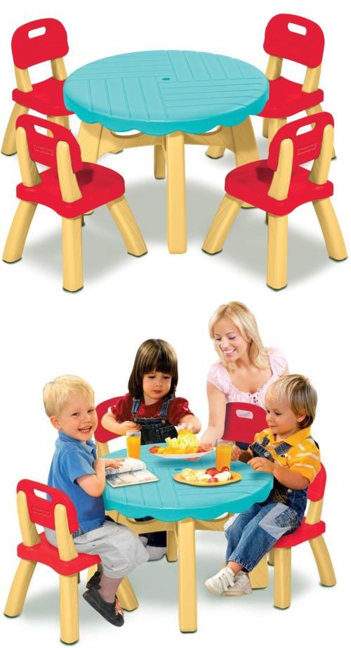 Little people 1963 1996 2527 fisher price summertime patio set with little people 1963 1996 2527 fisher price summertime patio set with 4 chairs watchthetrailerfo