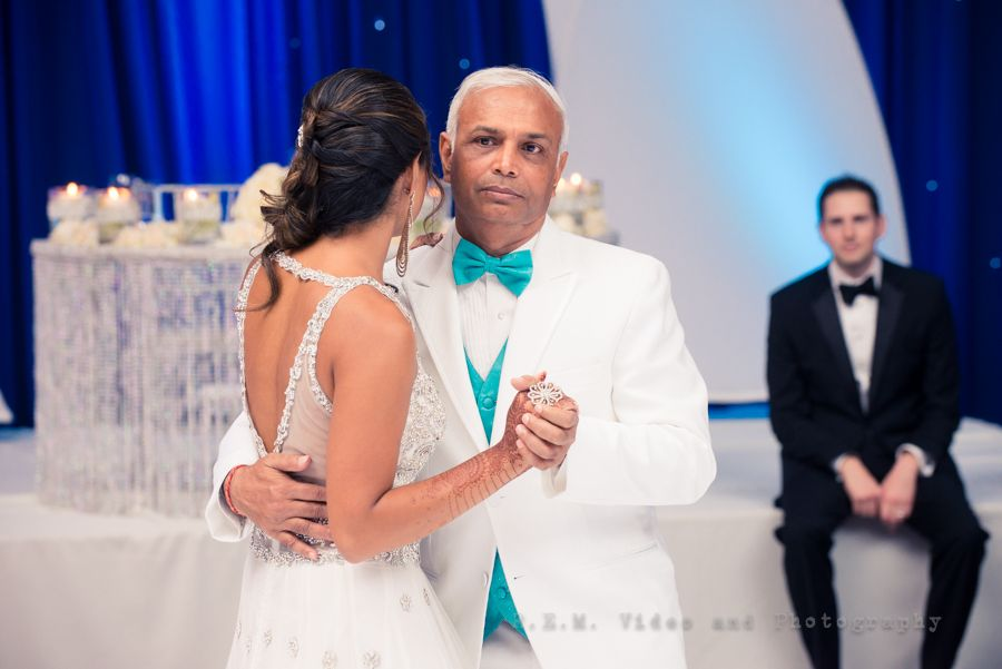 Father Daughter Dance Hindu Wedding Reception Hyatt Regency OHare