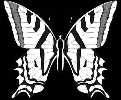 La Chachipedia: Mariposas para colorear, para imprimir y gifs ...